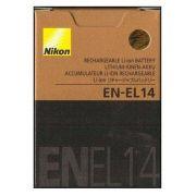 Bateria Nikon EN-EL14 Compatibilidade: Coolpix: D3100, D3200, D3300, D5100, D5200, D5300