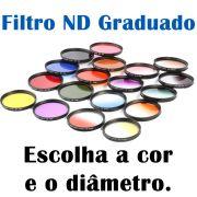 Filtro Nd Densidade Neutra Graduado ou Degradê Escolha Entre Várias Cores e Diâmetros