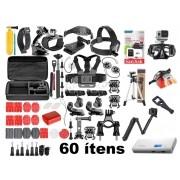 Kit de acessórios Gopro Hero 60 itens universal