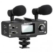 Kit Microfone Direcional Saramonic CA MIXER