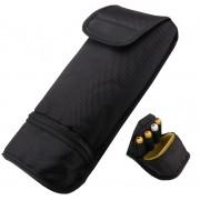 Porta Flash de Cintura Com Ziper Porta Pilhas Capa ou Case ou Bag Protetor para Transportar