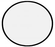 Rebatedor Circular Dobrável 5 x 1 médio