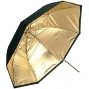 Sombrinha Dourada Média Ø 85 Cm