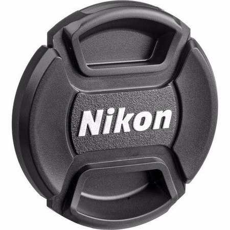 Tampa frontal com Logo Nikon para Lente 52mm