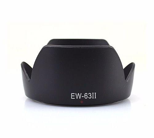 Parasol Ew-63ii para Lente Canon EF 28-105mm f/3.5-4.5 II USM Lente Canon EF 28-105mm f/4.0-5.6 USM Lente Canon EF 28mm f/1.8 USM