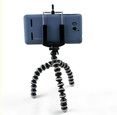 Mini Tripé Gorilla + Suporte Celular Universal