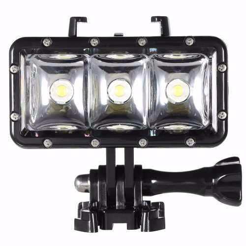 Iluminador Luz LED GoPro