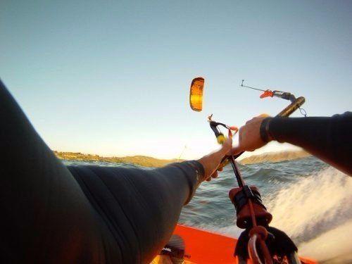 Suporte Go Pro Linha Kite Surf