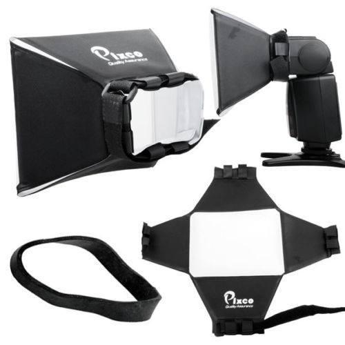 Difusor De Flash Softbox 13 X 10 Pixco Para Todos Os Modelos de Flash (Universal)