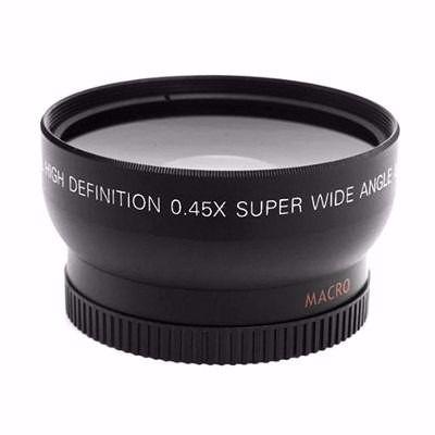 Lente Para Nikon Hd Macro Angular 0,45 X 52mm