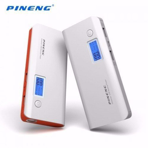 Carregador Portátil Power Bank Pineng 10.000 mAh