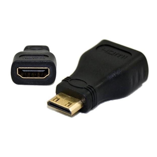 Adaptador HDMI Fêmea x Mini HDMI Macho