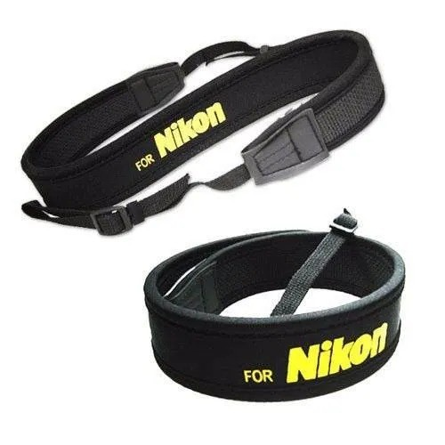 Alça Neoprene Nikon Preta