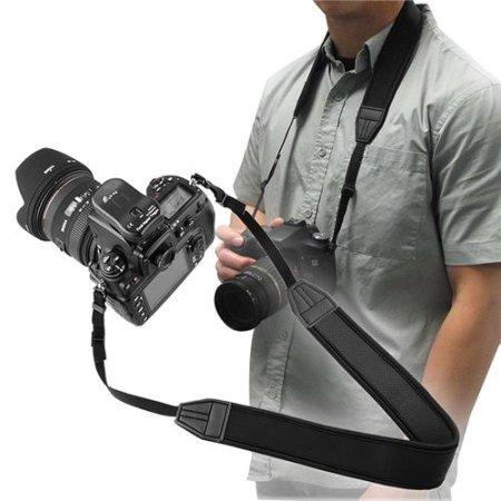 Alça de pescoço em Neoprene  Canon