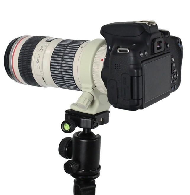 Anel de Fixação para Lente Canon 70-200 F/4 300 e 400mm metálico