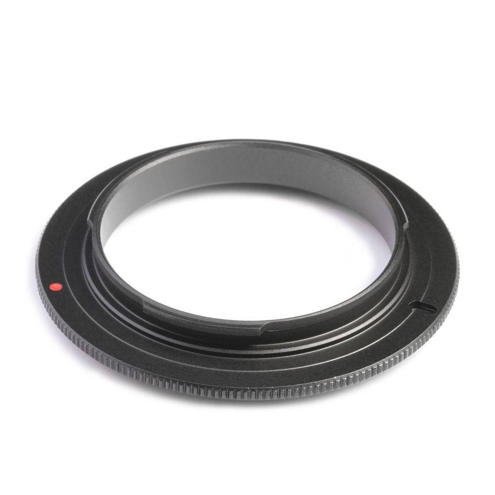 Anel Inversor de Lentes Canon P/ Fotografia Macro Escolha Dentre Vários Diâmetros