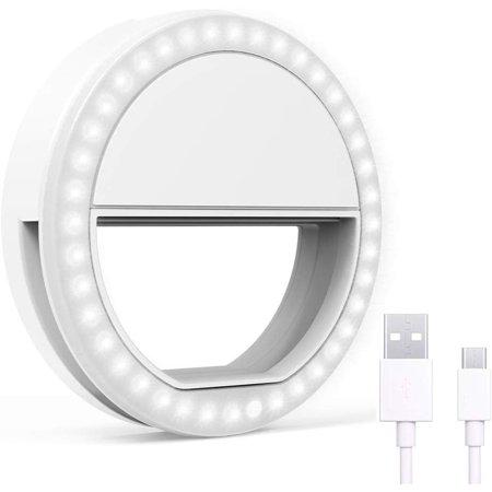 Anel Led Flash Ring Celular Universal