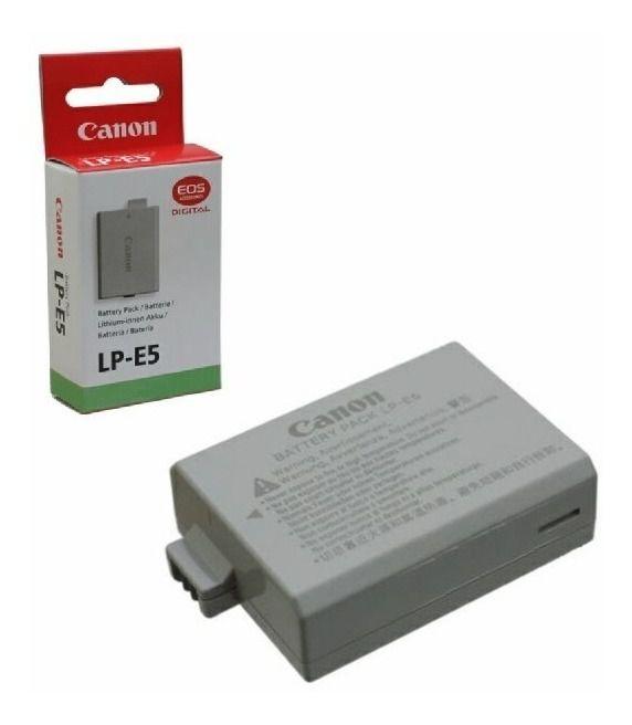 Bateria Canon LP-E5 Compatibilidade:  - EOS Rebel T1i - EOS Rebel XS - EOS Rebel XSi