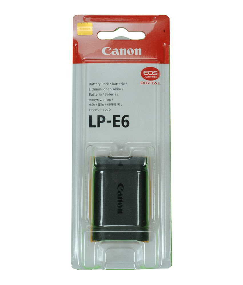 Bateria Canon  LP-E6 5D Mark II III IV 5DS R 60D 70D 6D 7D Mark II