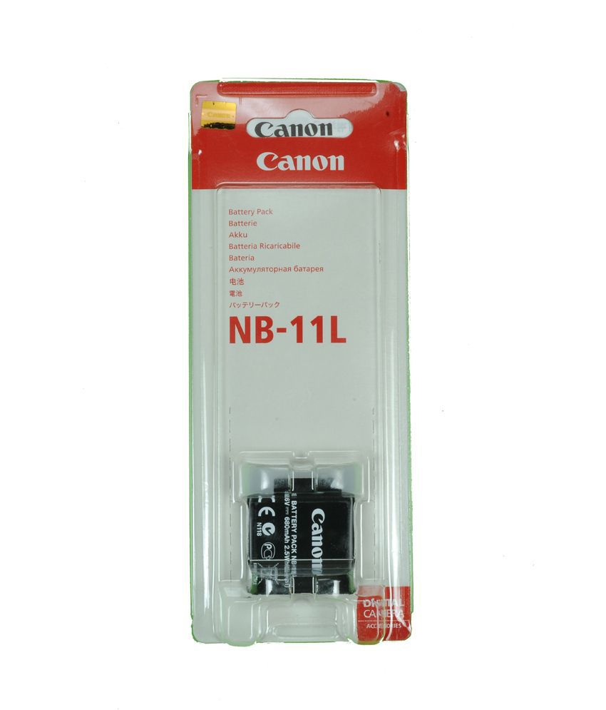 Bateria Canon NB-11L Compatibilidade:  -Canon IXUS 240 HS  -Canon IXUS 125 HS  -Canon PowerShot A4000 IS  -Canon PowerShot A3400 IS  -Canon PowerShot A2400 IS  -Canon PowerShot A2300
