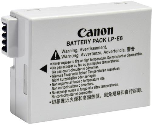 Bateria Canon LP-E8 P/ Sl1 T2i T3i T4i T5i 550d 600d 650d 700d