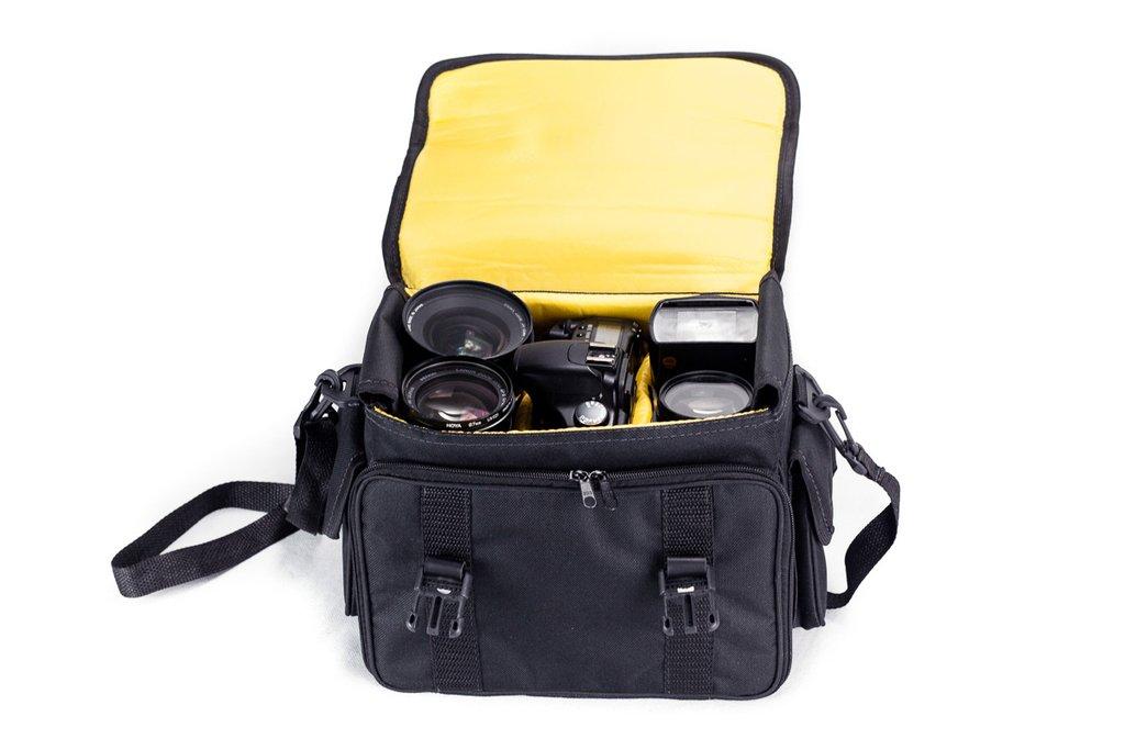 Bolsa de Mão Maleta para Fotografia Crazy Olimpus III OM300 Profissional