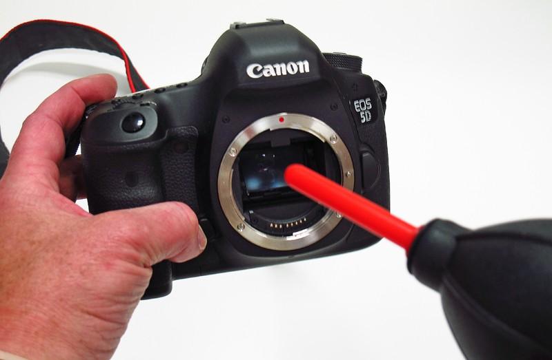 Bomba de Ar P/ Limpeza Lentes e Sensor Câmeras Fotográficas Air Blower