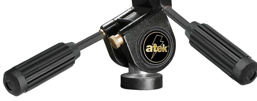 Cabeça Master Especial com três movimentos em alumínio com engate rápido para câmeras