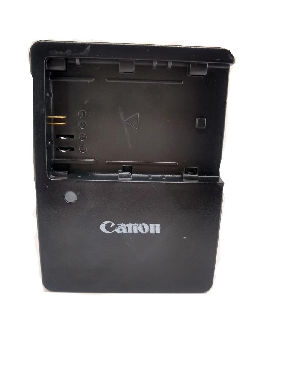 Carregador Lc-e6e Para Baterias Canon Lp-e6