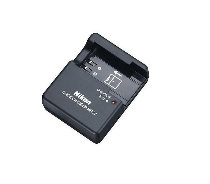 Carregador P/ Nikon Mh-23 D40 D60 D3000 D5000 Bateria En-el9