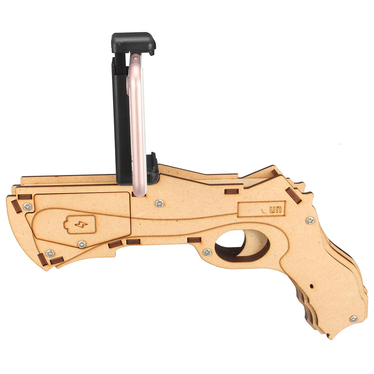 Controle De Jogo Pistola Ar-Gun Geek Play Com Suporte Para Celular