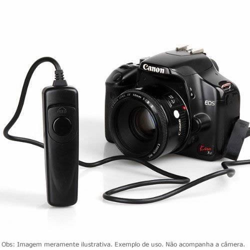 Controle Remoto Disparador RS-60E3 p/ Canon Pentax Samsung