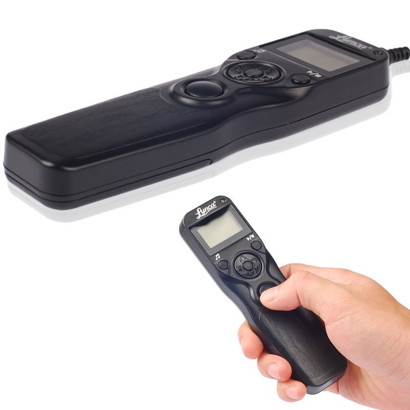 Controle Remoto Disparador Time Lapse MC-DC2 c/ LCD p/ Nikon