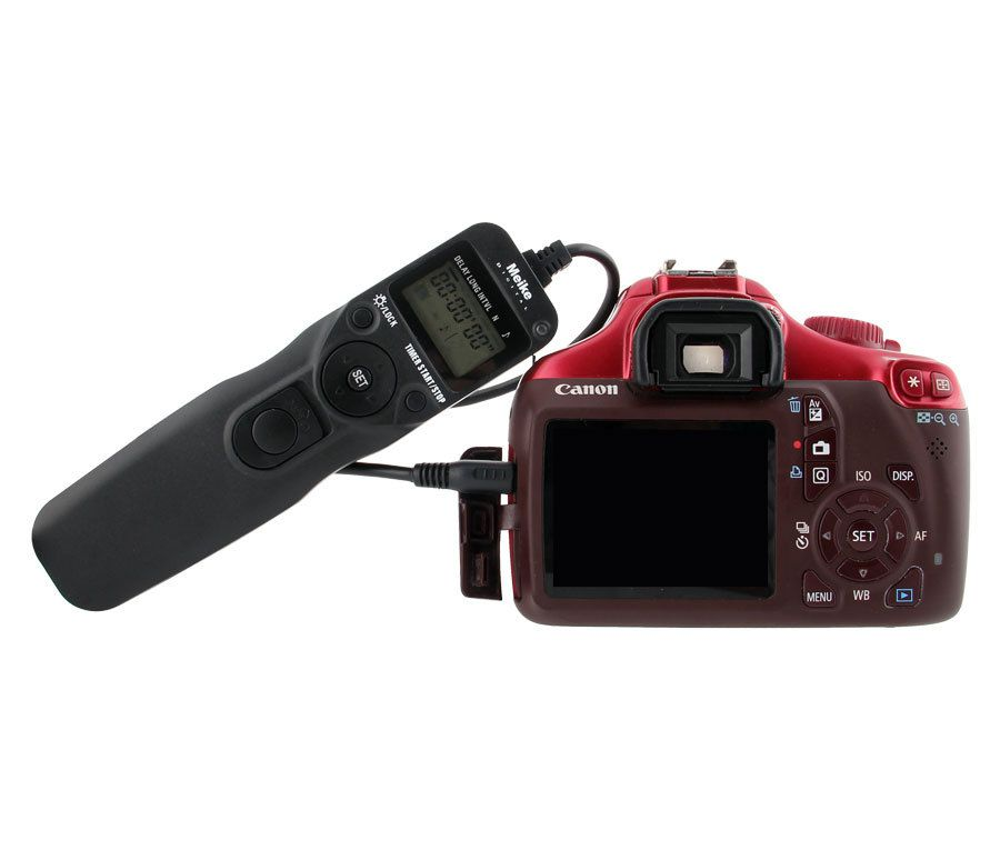 Controle Remoto disparador com Time Lapse Canon MC-36R C1 - Wireless