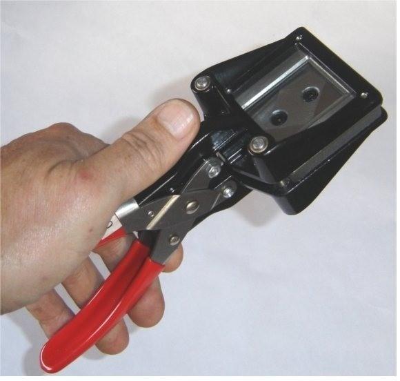 Cortador Profissional de Fotos 3x4 Alicate Corte em Aço Canto Reto