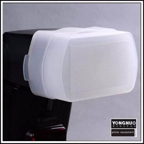 Difusor de Encaixar Flash Canon e Yongnuo 430EX 465EX 480EX Copo