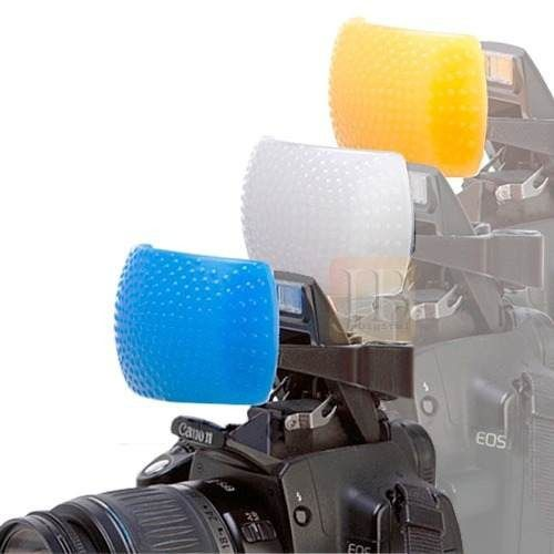 Difusor Para Flash Colorido Pop Up Kit Com 3