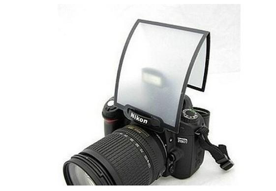Difusor Universal de Flash Pop-up Ou Flash Embutido (o flash da própria Câmera)