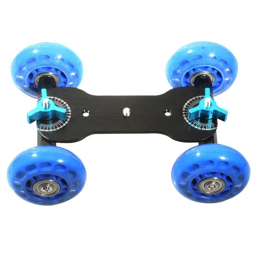 Dolly Slider Skate ou Carrinho Rodas Gel para Gravação de Vídeos