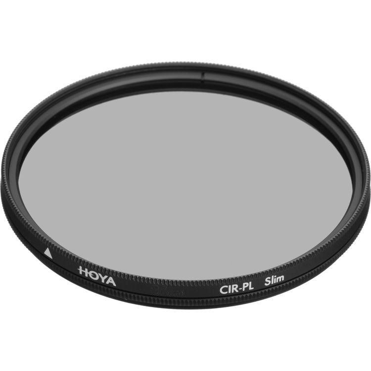 Filtro Cpl Polarizador HOYA slim - Escolha Entre Vários Diâmetros 49mm 52mm 55mm 58mm 62mm 67mm 72mm 77mm 82 mm