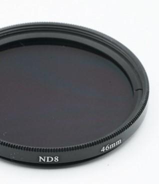 Filtro Nd Densidade Neutra ND8 46mm