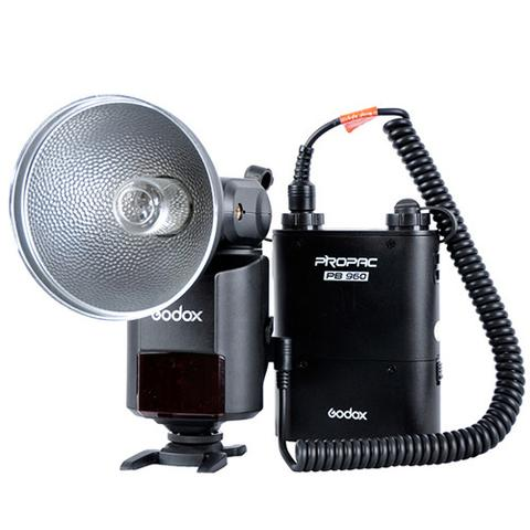 Flash Profissional Godox Witstro Ad360 + Bateria Godox Propac Pb-960