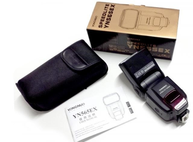 Flash Yongnuo TTL YN565EX II YN-565 EX 565EX Canon