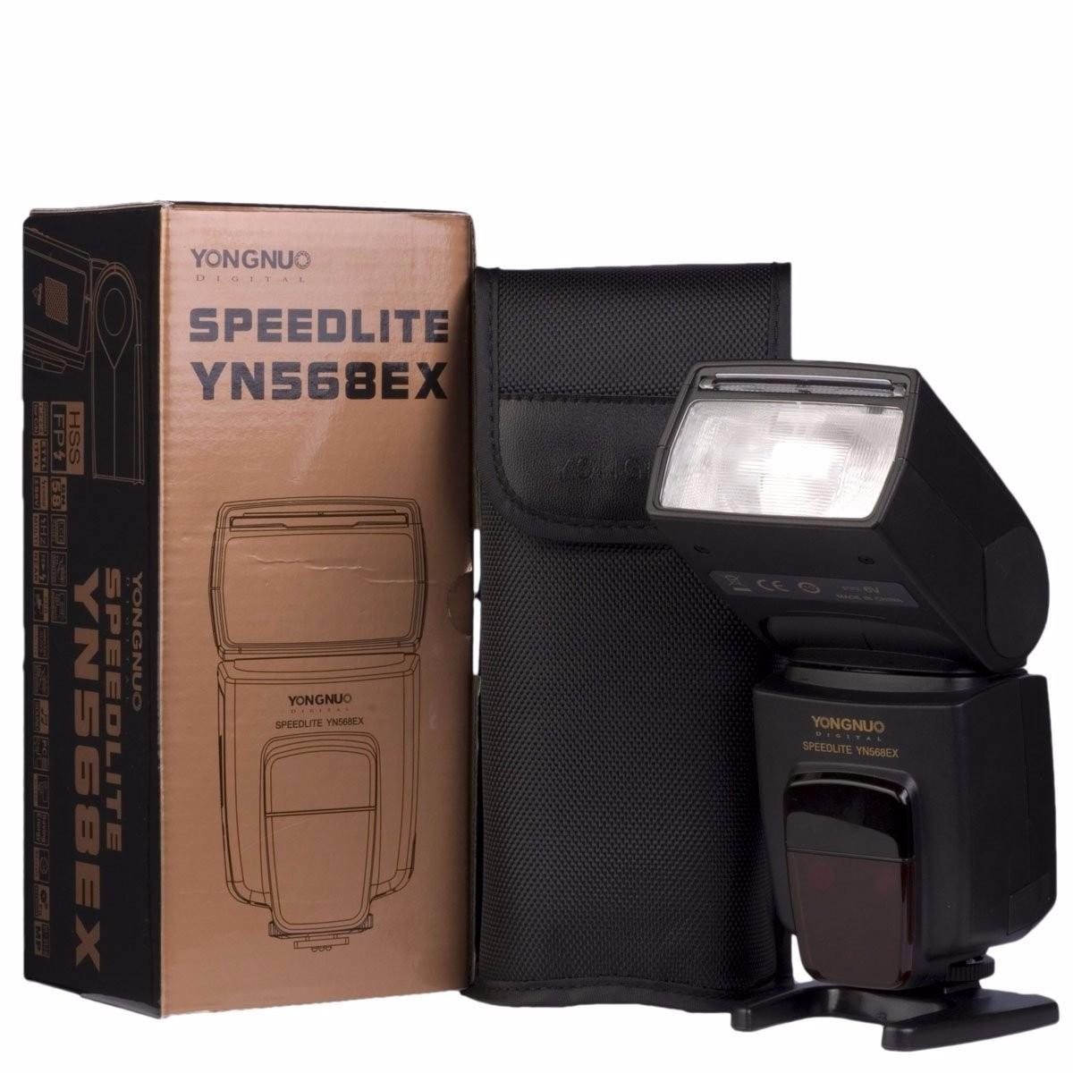 Flash Yongnuo TTL YN568EX YN-568 EX 568EX Para Nikon