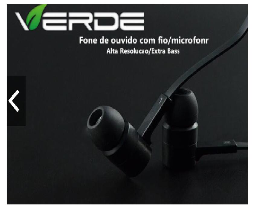 Fone De Ouvido Com Fio/Microfone Fone EJ-V21