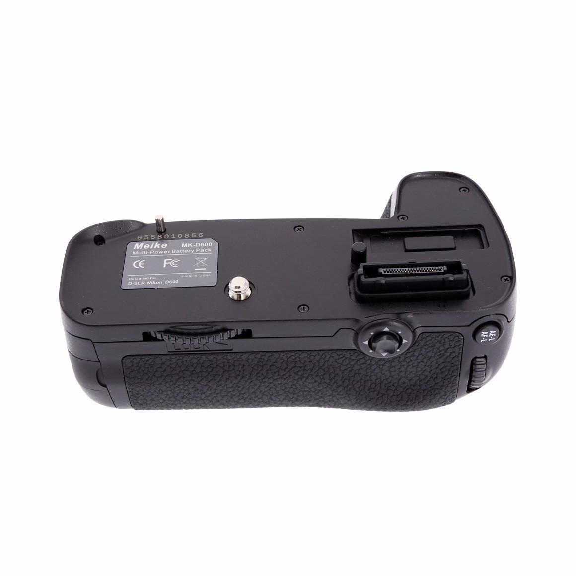 Grip Meike Nikon D600 D610 MK-D600 usa Pilhas ou Bateria