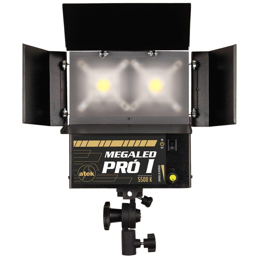 Iluminador Megaled Pró I com 2 LEDs de alto rendimento (2 x 60W)