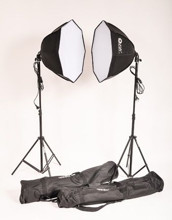 KIT-AGATA III COM SOFTBOX OCTAGONAL