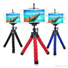 Kit Youtuber 12x1 -Tripé 1,30m +  Anel Led + Suporte Mesa FlexÍvel + Kit Lentes 3x1 + Mic Lapela com Adaptador + Extensão 3 Metros Para Lapela + bastão + controle + suporte selfie + tripe flexivel