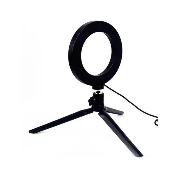 Kit Youtuber 13x1 - Fone de ouvido +Tripé 1,30m + Anel Led + tripé de luz